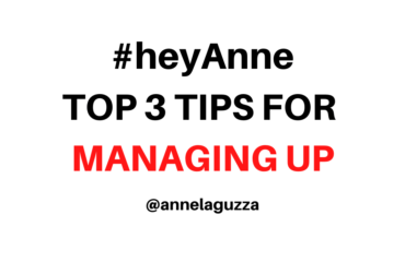 Top 3 tips for managing up